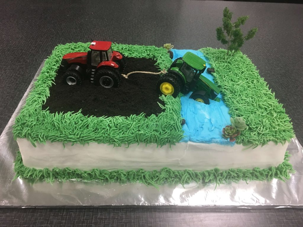 Habitue Coffeehouse Cakes to Remember All Occasion Birthday Cakes - Tractor Cake