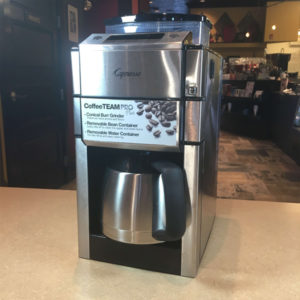 Capresso Coffee Grinders for sale Habitue Coffeehouse in LeMars, Iowa - Coffee TeamPro Plus