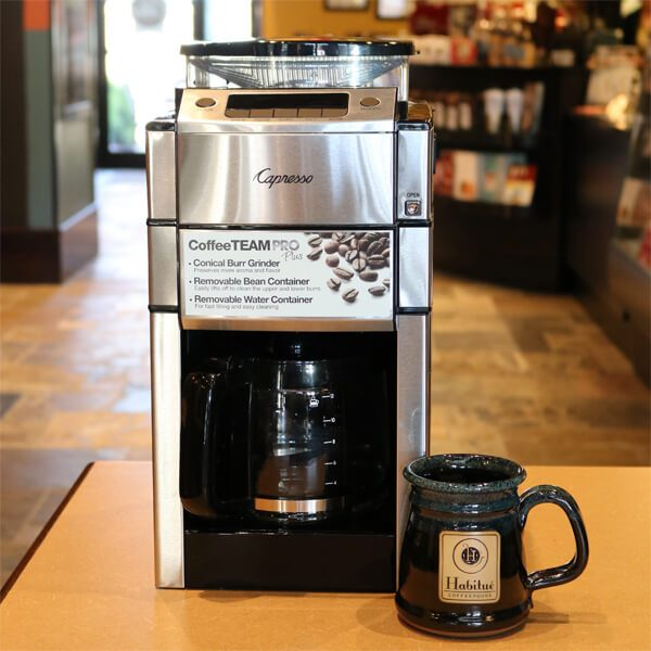 Capresso Coffee Grinders for sale Habitue Coffeehouse in LeMars, Iowa - Conical Burr Grinder