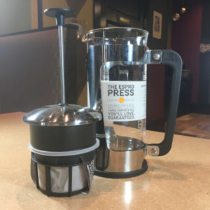 French Press for sale Habitue Coffeehouse in LeMars, Iowa - The Espro Press