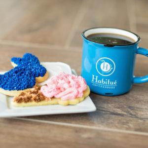 Habitue Coffeehouse Mug | Blue Bunny