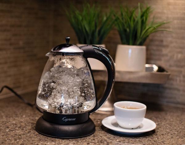 capresso hot water kettle