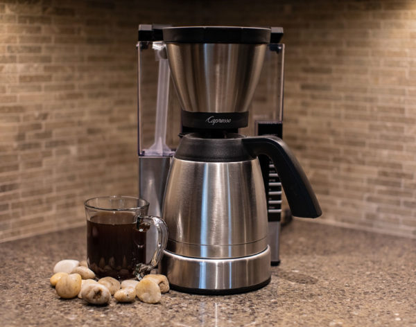 Capresso Coffee Brewer | Habitue Coffeehouse